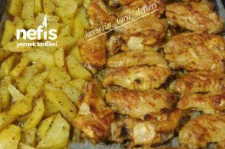 Ballı Ve Körili Tavuk Kanatları (Muhteşem Lezzet) Tarifi