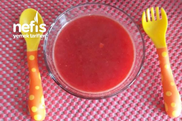 Minik Gurmelere Kırmızı Pancar Çorbası Tarifi