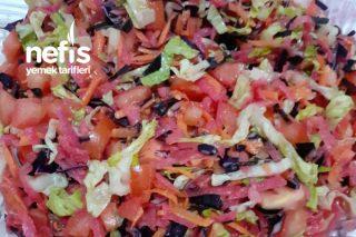 Renkli Kış Salatam Tarifi