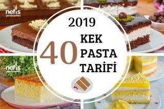 2019'da Göz Kamaştıran 40 Kek-Pasta Tarifi