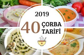 2019'da Sofraları Süsleyen 40 Çorba Tarifi