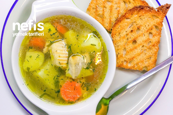 Hafif Balık Çorbası (Uha Çorbası) Tarifi