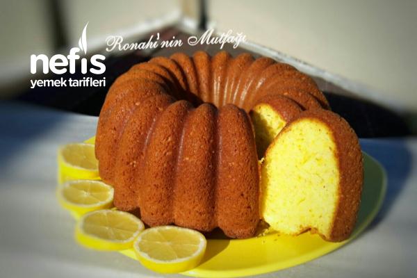 Kabarmaya Doymayan Limonlu Kek