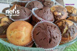 Çok Kabaran Muhteşem Muffin Kek (Kalabalık Misafirler İçin) Tarifi