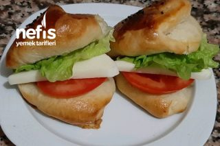 Sandviç Poğaça (Yumuşacık Puf Puf) Tarifi