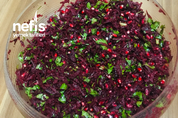 Enfes Pancar Salatası Tarifi