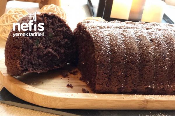 Kestane Ve Damla Çikolatalı Kek
