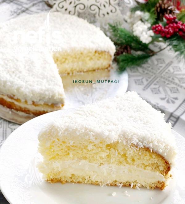 Pamuk gibi Kış Pastası