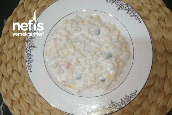 Dardalen Tonlu Makarna Salatası Tarifi