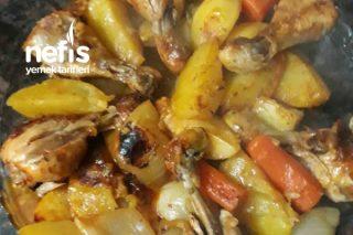 Fırın Torbasında Sebzeli Baget Tarifi