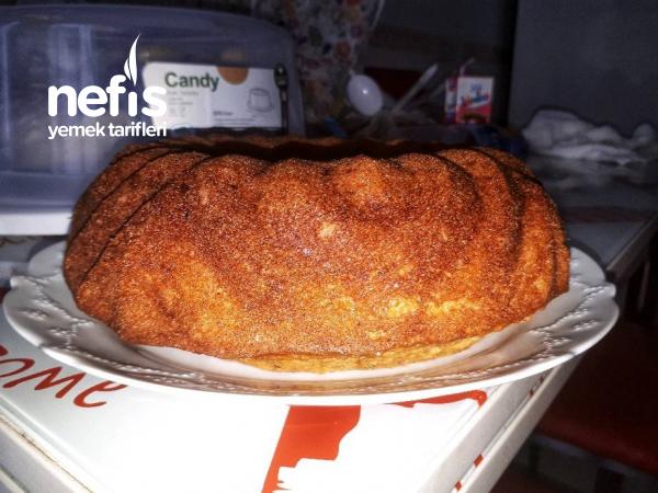 Nişastalı Havuçlu Fındıklı Kek