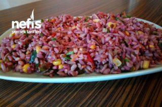 Şalgamlı Arpa Şehriye Ve Bulgur Salatası Tarifi
