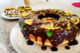 Çikolata Soslu Portakallı Kek Tarifi