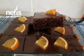 Çikolatalı Portakallı Islak Kek Tarifi