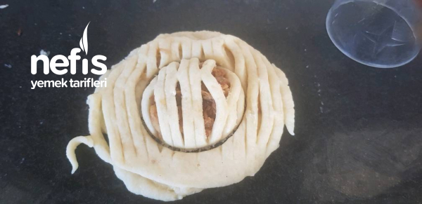 Elmalı Kafes Kurabiyem ( Az Şekerli)