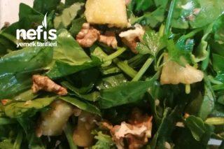 Fermante Karabuğdaylı Ananaslı Ispanak Salatası (Gaps Diyetine Uygun) Tarifi