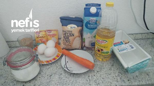 Havuçlu Baton Kek(tarçınsız)