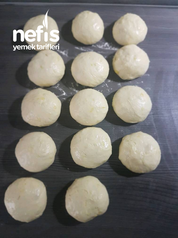 Yumuşacık Patatesli Rulo Pogaca