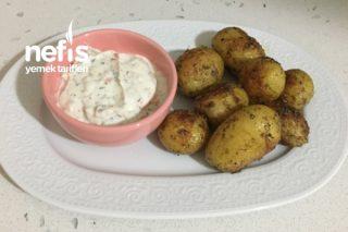Dip Sos Eşliğinde Taze Patates Tarifi