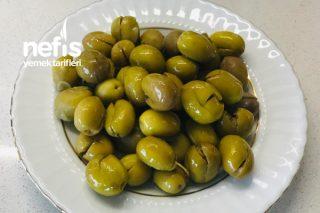 Kırma Yeşil Zeytin Tarifi