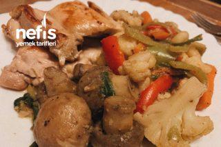 Zencefilli Sebzeli Diyet Tavuk / Diet Chicken With Ginger Flavor Tarifi