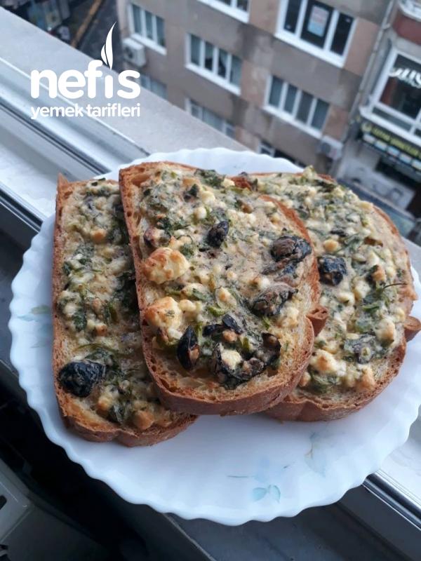 Kahvaltilik Çıtır Ekmekler ( Kahvaltida Degisiklik İsteyenler)