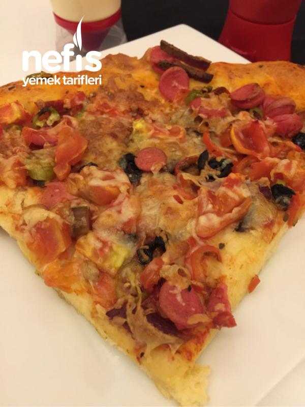 Pizza(mayasız Hamurlu)