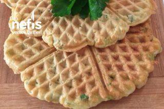 Sebzeli Waffle Tarifi