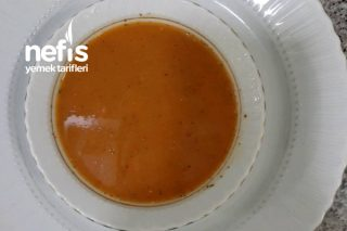 Kırmızı Mercimekli Tarhana Çorbası Tarifi