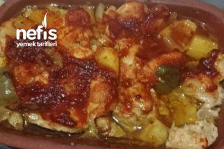 Fırında Güveç Tavuk Sote Patatesli Tarifi