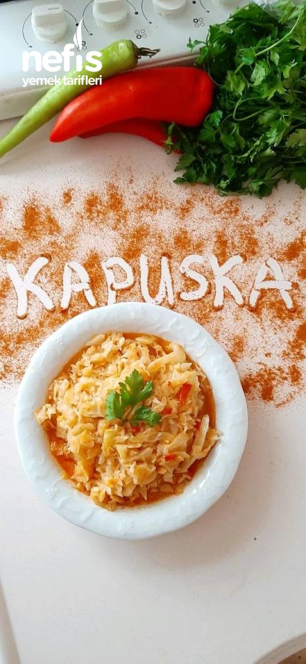 Kapuska (Lahana Yemeği )