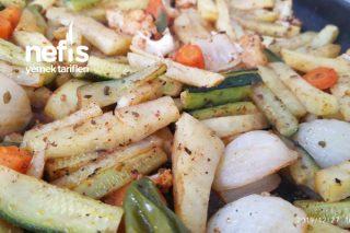 Fırında Sebze Yemeği (Çok Pratik ) Tarifi