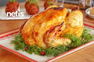 Fırın Torbasında Lokum Gibi Bütün Tavuk Yapımı (videolu) Tarifi