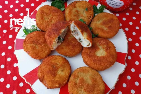 İçi Kıymalı Patates Köftesi (Çok Lezzetli) Tarifi