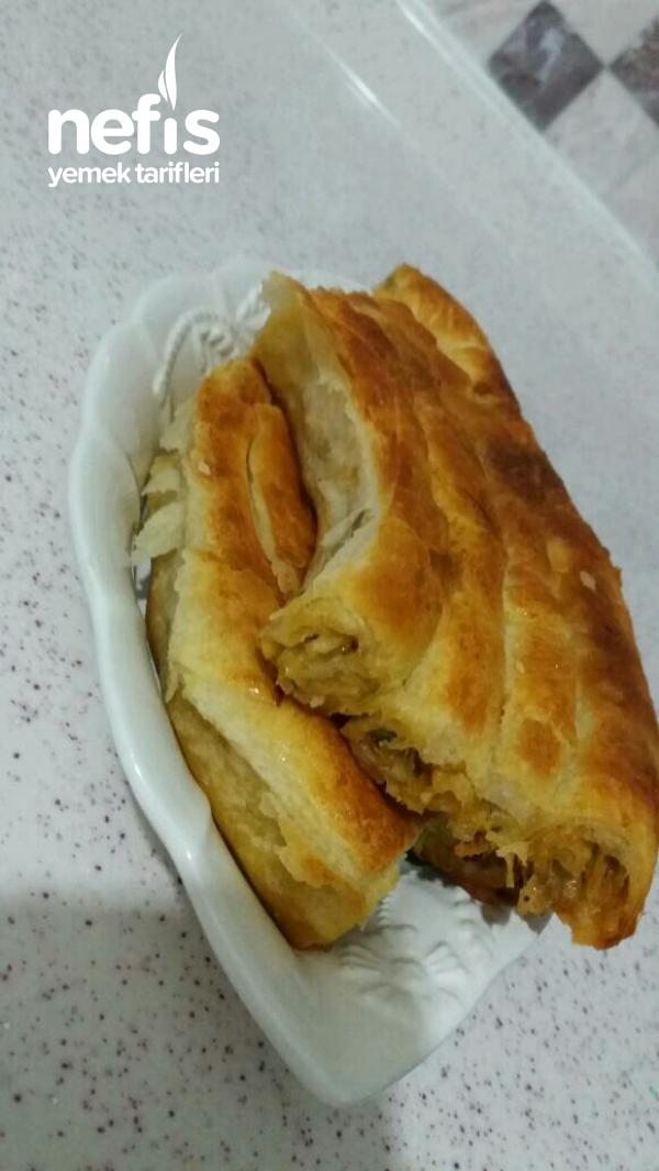 Patatesli Rulo Borek ( Sodali )