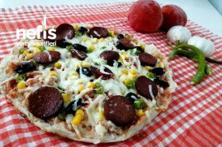 Tavada Nefis Pizza Tarifi