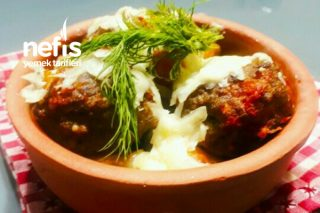 Güveçte Köfteli Patates Tarifi