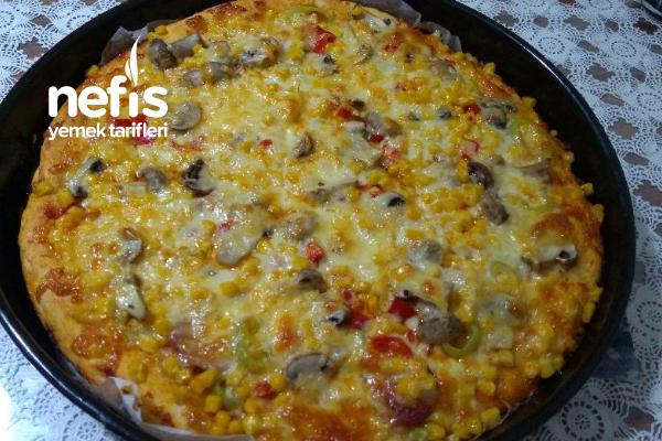 Hazırı Aratmayan Pizzam Tarifi