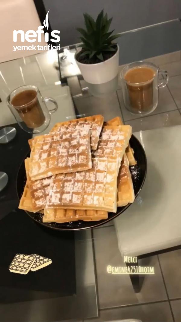 Waffle tarifi ( Nefis)