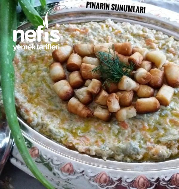 Çıtır Yufkalı Salata