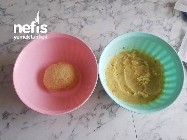 Enfes Patatesli Ekşi Lahanalı Mantı-metez (İster Hemen Pişir İster Buzluğa At)