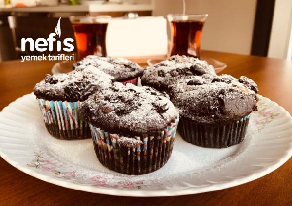 Espressolu İçli Muffin