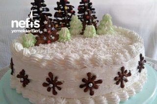 Muzlu Karamelli Yılbaşı Pastası Tarifi