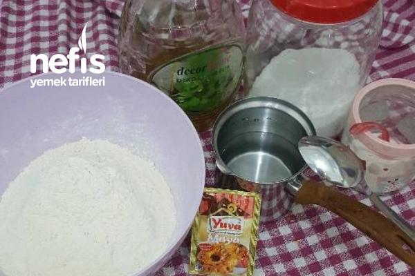 """""""pizza""""pişir Hemen Ye! kalan Hamuru hazırla  Pişirmeden Buzluğa At."""