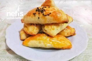 Pratik Mayasız Peynirli Ev Poğaçası Tarifi