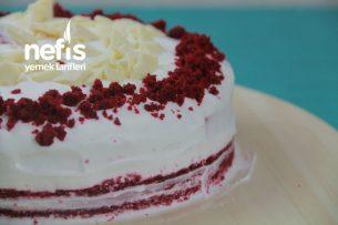 Red Velved Cake ( Kırmızı Kadife Pasta) (Videolu) Tarifi