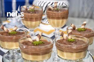 Çikolatalı Karamelli Enfes Puding Tarifi