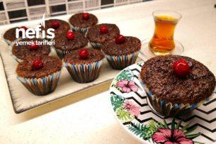 Muhteşem İkili Vişneli Çikolatalı Kek Tarifi (Videolu)