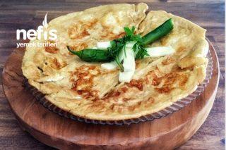 Tam Buğdaylı Peynirli Omlet Tarifi