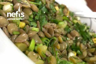 Yeşil Mercimek Salatası (Lezzeti Muhteşem Ve Çok Pratik) Tarifi